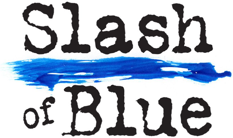 Slash of Blue